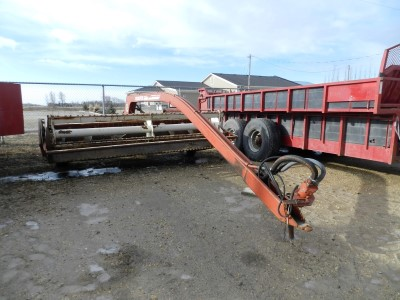 1014 Hesston Mower Conditioner 12ft | Penner Auctions | Used Heavy