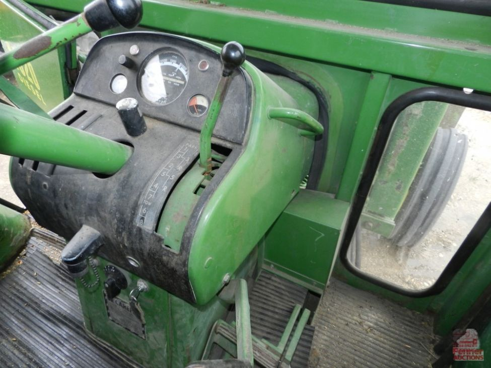 John Deere Skid Steer >> 1968 John Deere 4020, Loader, Cab | Penner Auctions | Used ...