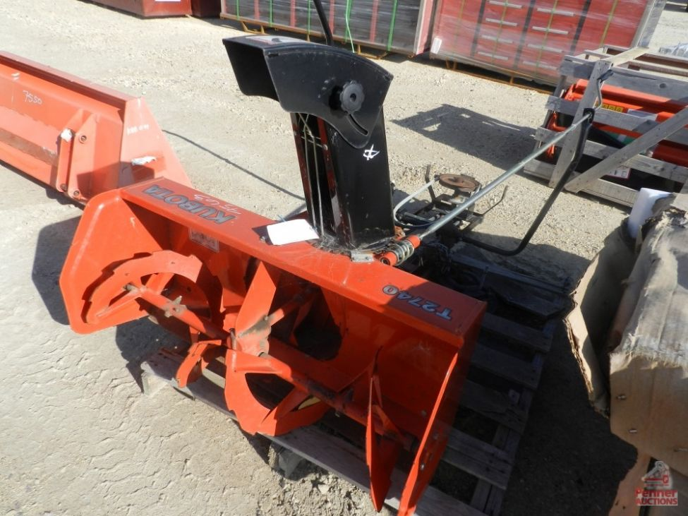 Kubota T2740 Front Mount Snow Blower Penner Auctions