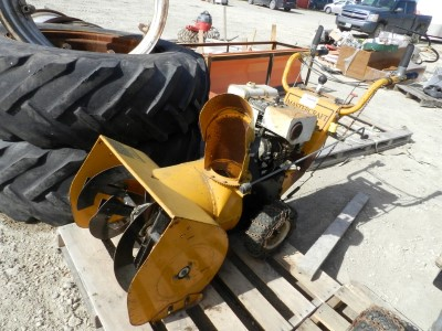 Mastercraft Walk Behind Snow Blower | Penner Auctions | Used