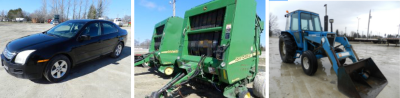 Equipment Auction Sat. May 7th at 10AM