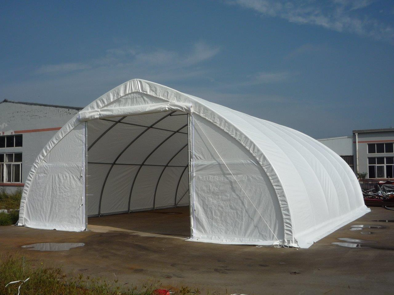 Tents 30FT X 85FT X 15FT High Ceiling Double Doored Storage Building